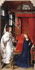 Columba-Altar: Verkündigung