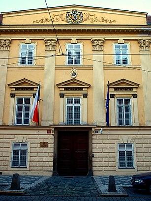 How to get to Ministerstvo Školství, Mládeže A Tělovýchovy with public transit - About the place