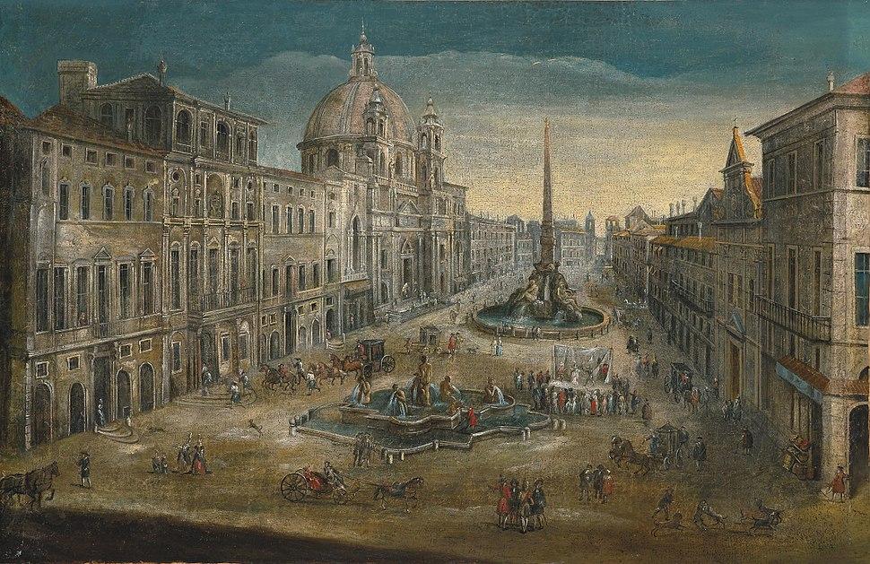 Roma Piazza Navona 17c