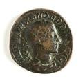 Romerskt bronsmynt med Alexander Severus 231-235 - Skoklosters slott - 110659.tif