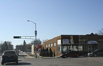 Rosendale Wisconsin Downtown WIS23 WIS26.jpg