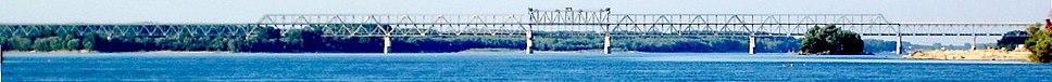 The Friendship Bridge, connecting Bulgaria with Romania