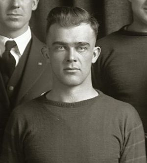 Roy W. Johnson (coach) - Johnson, cropped from 1919 Michigan Wolverines football team portrait