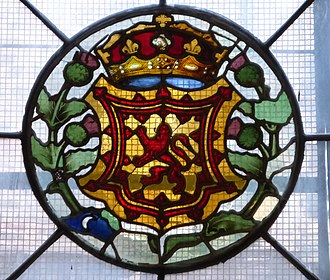 Art in early modern Scotland - Rare example of pre-Reformation stained glass in the Magdalen Chapel, Edinburgh