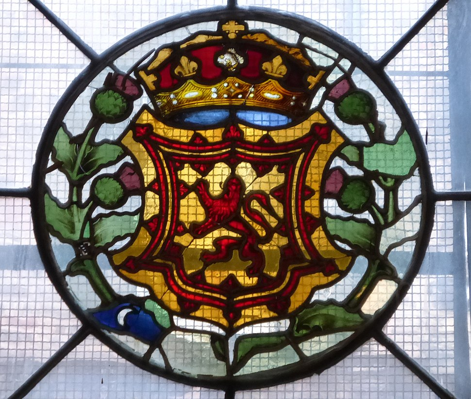Royal Arms of Scotland, Magdalen Chapel, Edinburgh