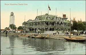 Royal Hamilton Yacht Club - Royal Hamilton Yacht Club (c. 1910)