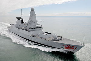 HMS Dragon (D35) - HMS Dragon
