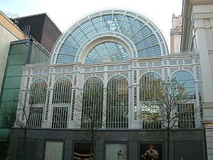 Culture of London - The Floral Hall of the Royal Opera House