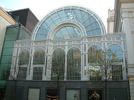 Exterior of the Paul Hamlyn Hall Royal Opera House - Floral Hall - Bow Street - London - 240404.jpg