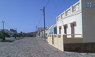 Povoação Velha Settlement in Boa Vista, Cape Verde