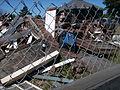 Rubble from the destruction of the Pleasure Point Roadhouse, Monterey Bay, California (September 2008).jpg