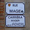 Rue Mage (Toulouse) - Plaques.jpg