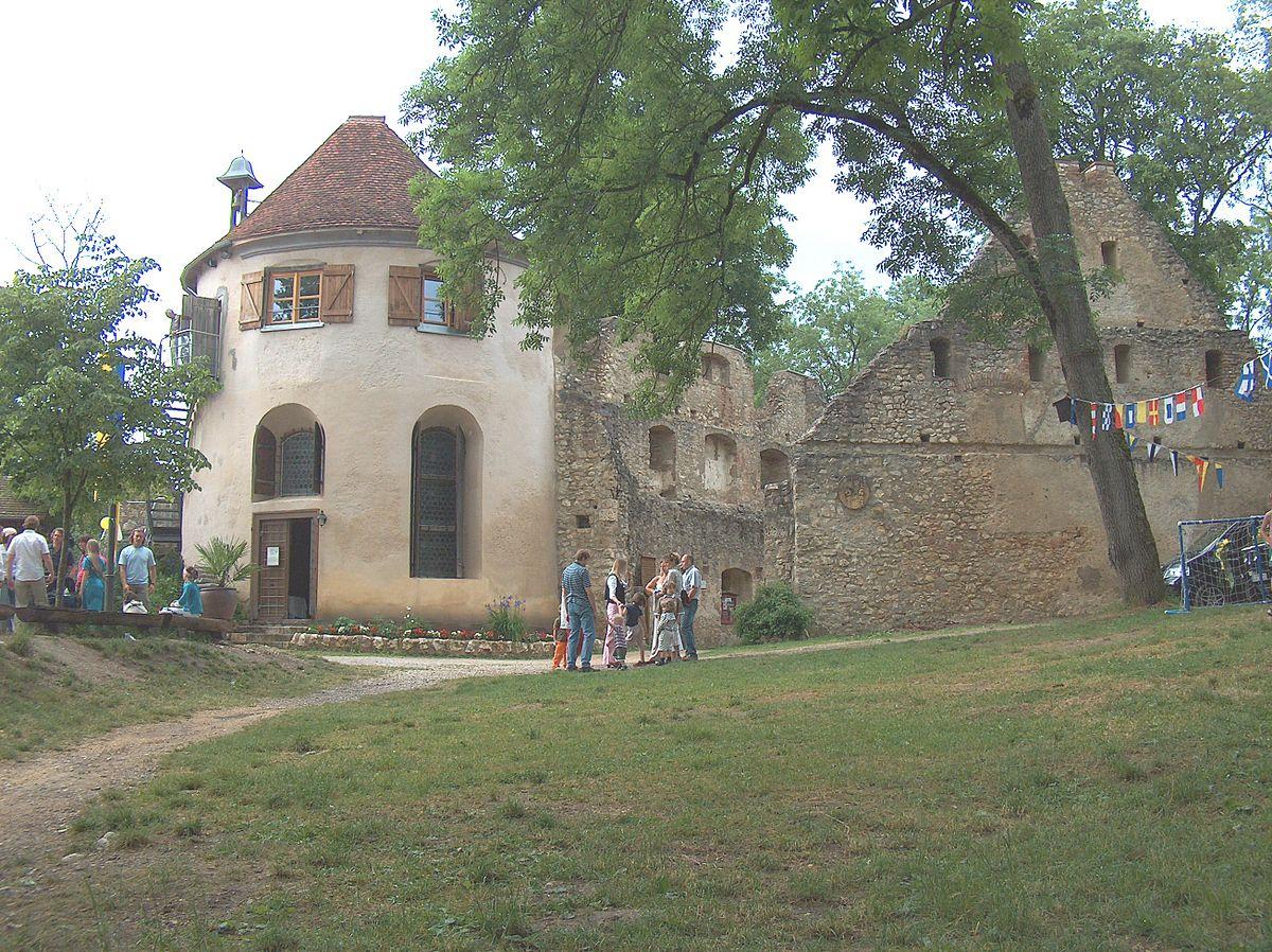 Ruine Hornstein (Bingen) – Wikipedia Hornstein