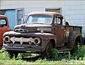 Rusty Ford Truck, Old Metal, NB 7-25-13 (10784237423).jpg