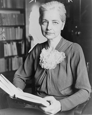 Ruth Benedict, American anthropologist