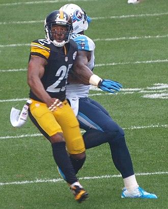 Ryan Clark (American football) - Clark with the Steelers in 2013.