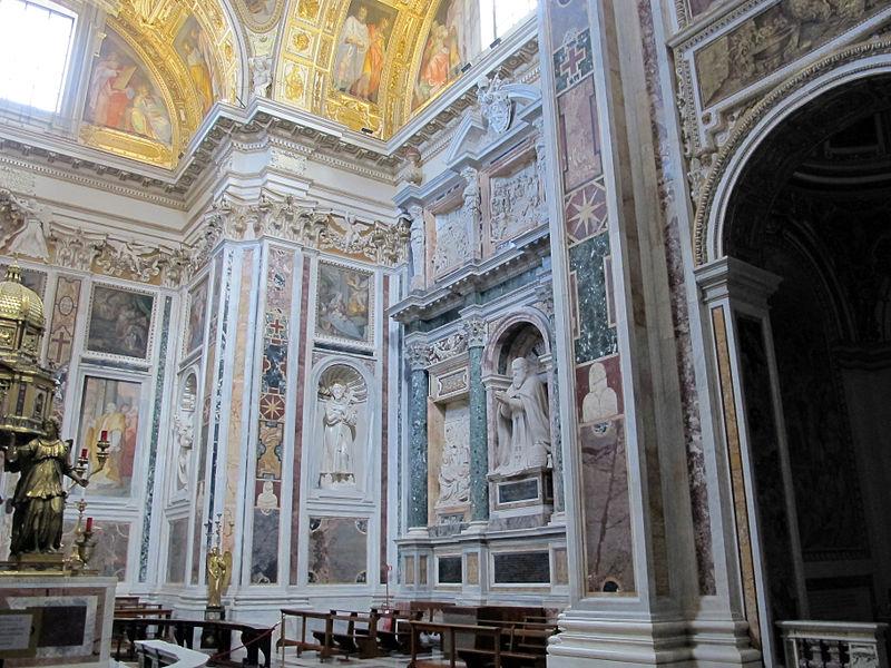 S.m. maggiore, cappella del ss. sacramento (sistina), del fontana (1584-7) con amrmi dal settizionio 06.JPG