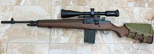 Springfield Armory M1A - Springfield M1A rifle