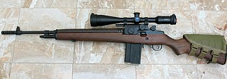 Springfield Armory M1A - Springfield M1A rifle