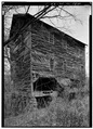 SIDE VIEW OF MILL, FROM SOUTHEAST - Hildebrand's Mill, Flint, Delaware County, OK HABS OKLA,21-FLINT.V,1A-2.tif