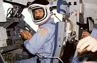 Charles Bolden - Bolden on the flight deck of Columbia during STS-61-C