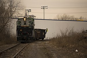Central Illinois Railroad - Image: SW9 1206 shunting