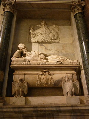 Giovanni Mangone - Tomb of Cardinal Willem van Enckevoirt at Santa Maria dell'Anima in Rome