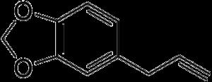 Safrole - Image: Safrole Line Structure