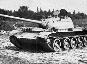 T-54/T-55 - A Somali National Army T-55.
