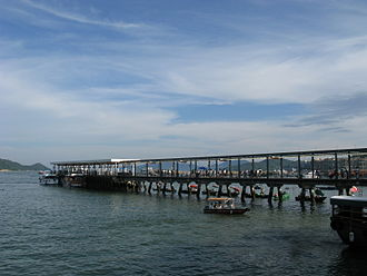 Inner Port Shelter - Sai Kung Public Pier in Inner Port Shelter.