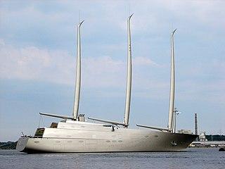 Superyacht Large and luxurious pleasure vessel