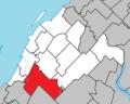 Saint-Antonin Quebec location diagram.png