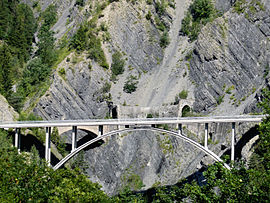 The Sallanches Viaduct, in Saint-Jean-d'Arves