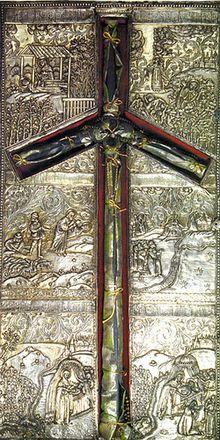 220px-SaintNinoCross Всемирното Православие - СВ. РАВНОАПОСТОЛНА НИНА,  ПРОСВЕТИТЕЛКА НА ГРУЗИЯ