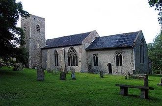 Briningham - Image: Saint Maurice, Briningham, Norfolk