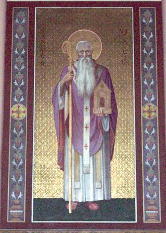 Victricius - Image: Saint Victrice