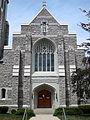 Saint Vincent de Paul Catholic Church (Mount Vernon, Ohio) - exterior, front.jpg