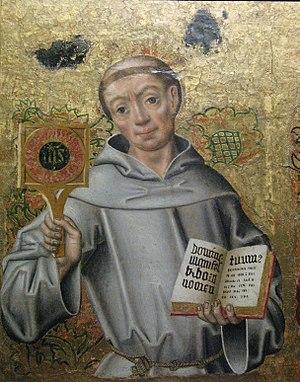 Bernardino of Siena - Saint bernardin de sienne Langeais