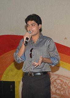 Shakthi Vasudevan Indian actor