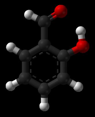 Salicylaldehyde - Image: Salicylaldehyde 3D balls B
