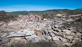 Añana - View of Añana