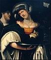 Salomè con la testa del Battista - Prata da Caravaggio.jpg