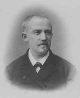Salomon Stricker - Salomon Stricker; photographed by Josef Löwy)