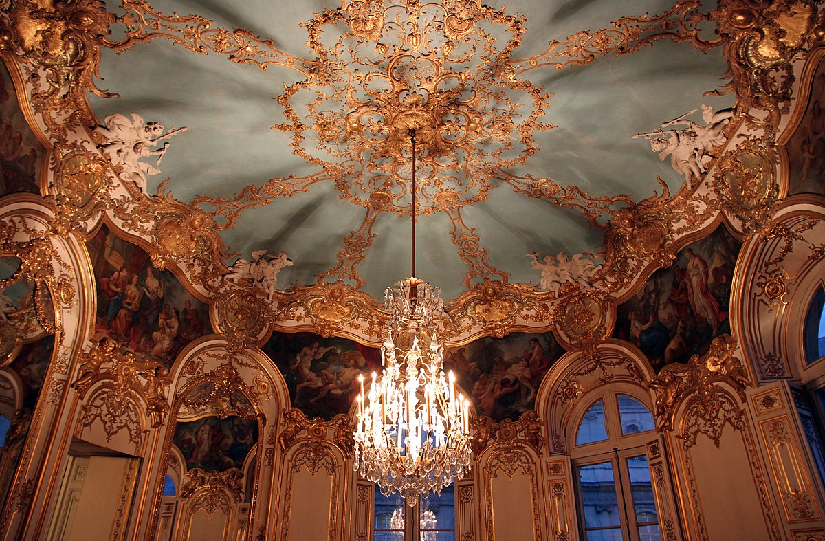 Rococo wikipedia for Salons de paris