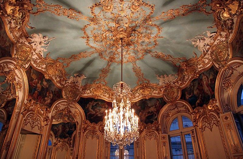 Rococo France Salon de la princesse hotel de soubise