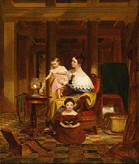The Goldfish Bowl (Mrs. Richard Cary Morse and Family)