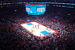 The Clippers hosting the San Antonio Spurs in Game 5 of the 2015 NBA ... Spurs