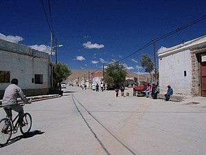 Los Andes Department - A road in San Antonio de los Cobres