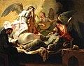 San Francisco confortado por los ángeles, de José Camarón Boronat (Museo del Prado).jpg