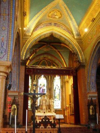 Mekhitarists - Interior of the monastery church on San Lazzaro.